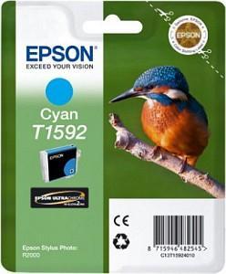 CARTUS CYAN C13T15924010 17ML ORIGINAL EPSON STYLUS PHOTO R2000