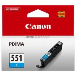 CARTUS CYAN CLI-551C 7ML ORIGINAL CANON PIXMA IP7250