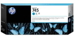 CARTUS CYAN NR.745 F9K03A 300ML ORIGINAL HP DESIGNJET Z5600