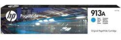 CARTUS CYAN NR.913A F6T77AE ORIGINAL HP PAGEWIDE PRO 452DW