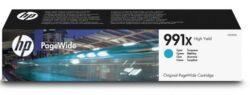 CARTUS CYAN NR.991X M0J90AE 16K ORIGINAL HP PAGEWIDE PRO 750DW