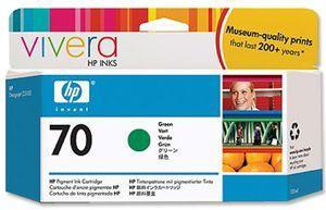 CARTUS GREEN VIVERA NR.70 C9457A 130ML ORIGINAL HP DESIGNJET Z3200