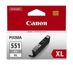CARTUS GREY CLI-551XLGY 11ML ORIGINAL CANON PIXMA IP7250