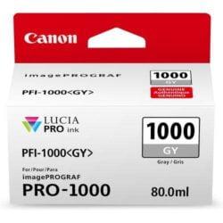 CARTUS GREY PFI-1000GY 80ML ORIGINAL CANON IMAGEPROGRAF PRO-1000