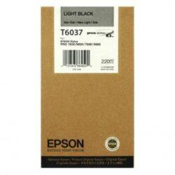 CARTUS LIGHT BLACK C13T603700 220ML ORIGINAL EPSON STYLUS PRO 7800