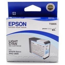 CARTUS LIGHT CYAN C13T580500 80ML ORIGINAL EPSON STYLUS PRO 3800