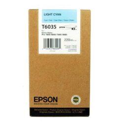 CARTUS LIGHT CYAN C13T603500 220ML ORIGINAL EPSON STYLUS PRO 7800