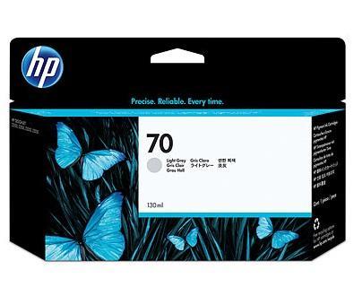 CARTUS LIGHT GREY VIVERA NR.70 C9451A 130ML ORIGINAL HP DESIGNJET Z2100