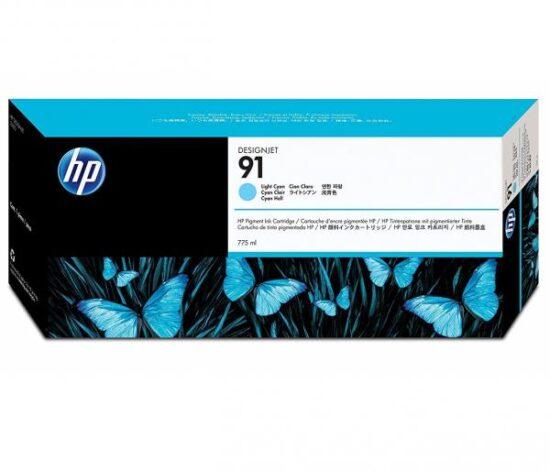 CARTUS LIGHT GREY VIVERA NR.91 C9466A 775ML ORIGINAL HP DESIGNJET Z6100