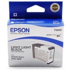 CARTUS LIGHT LIGHT BLACK C13T580900 80ML ORIGINAL EPSON STYLUS PRO 3800