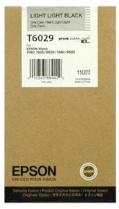 CARTUS LIGHT LIGHT BLACK C13T602900 110ML ORIGINAL EPSON STYLUS PRO 7800