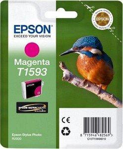 CARTUS MAGENTA C13T15934010 17ML ORIGINAL EPSON STYLUS PHOTO R2000