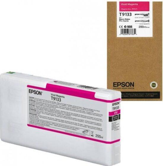 CARTUS MAGENTA C13T913300 200ML ORIGINAL EPSON SC-P5000 STD