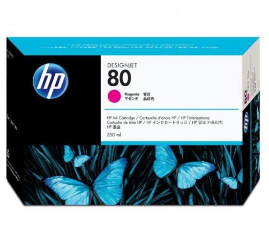 CARTUS MAGENTA NR.80 C4847A 350ML ORIGINAL HP DESIGNJET 1050