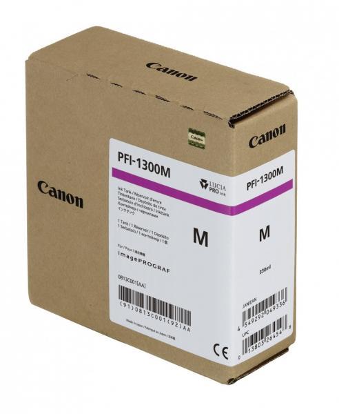 CARTUS MAGENTA PFI-1300M 330ML ORIGINAL CANON IPF PRO-2000
