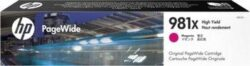 CARTUS MAGENTA XL NR.981X L0R10A ORIGINAL HP PAGEWIDE ENTERPRISE 556DN