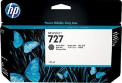 CARTUS MATTE BLACK NR.727 B3P22A 130ML ORIGINAL HP DESIGNJET T1500