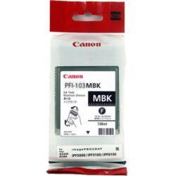 CARTUS MATTE BLACK PFI-103MBK 130ML ORIGINAL CANON IPF 6100