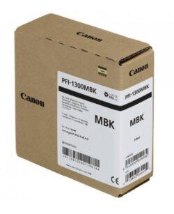 CARTUS MATTE BLACK PFI-1300MBK 330ML ORIGINAL CANON IPF PRO-2000