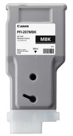 CARTUS MATTE BLACK PFI-207MB 300ML ORIGINAL CANON IPF 680