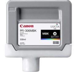 CARTUS MATTE BLACK PFI-306MBK 330ML ORIGINAL CANON IPF 8400