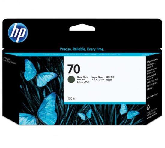 CARTUS MATTE BLACK VIVERA NR.70 C9448A 130ML ORIGINAL HP DESIGNJET Z2100
