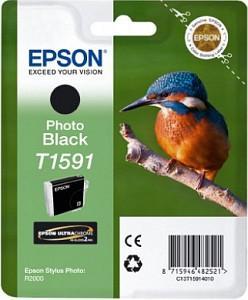 CARTUS PHOTO BLACK C13T15914010 17ML ORIGINAL EPSON STYLUS PHOTO R2000