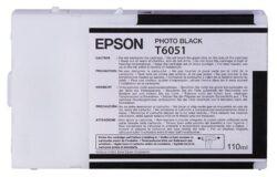 CARTUS PHOTO BLACK C13T605100 110ML ORIGINAL EPSON STYLUS PRO 4800