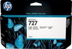 CARTUS PHOTO BLACK NR.727 B3P23A 130ML ORIGINAL HP DESIGNJET T1500