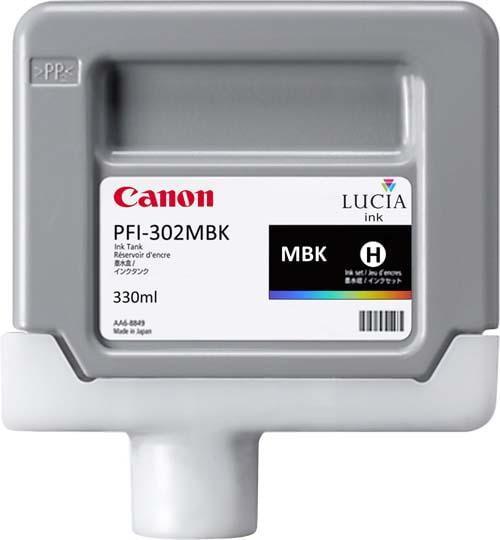 CARTUS PHOTO BLACK PFI-302PBK 330ML ORIGINAL CANON IPF 8100