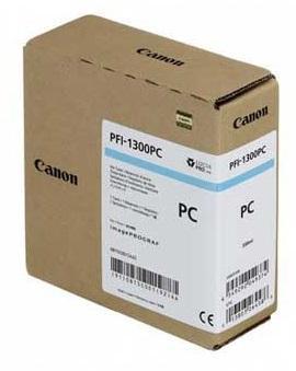 CARTUS PHOTO CYAN PFI-1300PC 330ML ORIGINAL CANON IPF PRO-2000