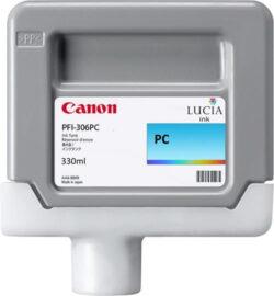 CARTUS PHOTO CYAN PFI-306PC 330ML ORIGINAL CANON IPF 8400