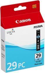 CARTUS PHOTO CYAN PGI-29PC ORIGINAL CANON PIXMA PRO-1