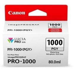 CARTUS PHOTO GREY PFI-1000PGY 80ML ORIGINAL CANON IMAGEPROGRAF PRO-1000