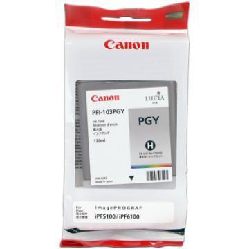 CARTUS PHOTO GREY PFI-103PGY 130ML ORIGINAL CANON IPF 6100