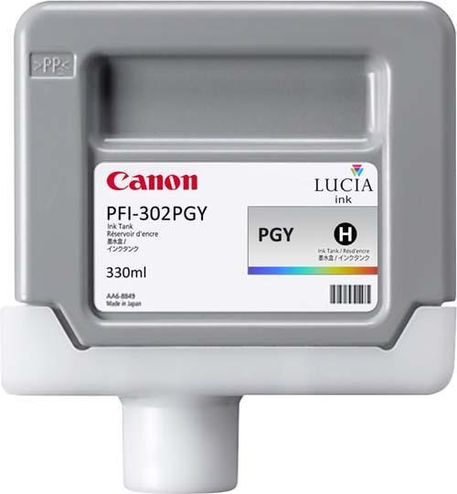 CARTUS PHOTO GREY PFI-302PGY 330ML ORIGINAL CANON IPF 8100