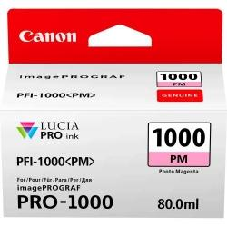 CARTUS PHOTO MAGENTA PFI-1000PM 80ML ORIGINAL CANON IMAGEPROGRAF PRO-1000