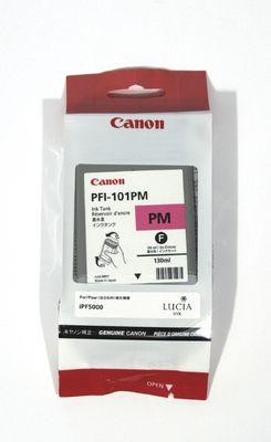 CARTUS PHOTO MAGENTA PFI-101PM 130ML ORIGINAL CANON IPF 5000