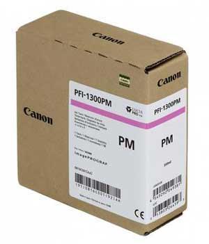 CARTUS PHOTO MAGENTA PFI-1300PM 330 ML ORIGINAL CANON IPF PRO-2000
