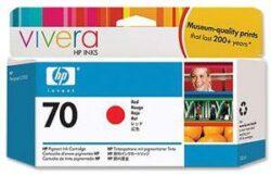 CARTUS RED VIVERA NR.70 C9456A 130ML ORIGINAL HP DESIGNJET Z2100