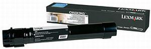 CARTUS TONER BLACK C950X2KG 32K ORIGINAL LEXMARK C950DE