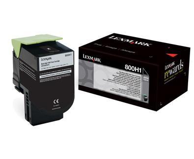 CARTUS TONER BLACK NR.800H1 80C0H10 4K ORIGINAL LEXMARK CX410E
