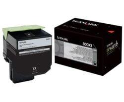 CARTUS TONER BLACK NR.800X1 80C0X10 8K ORIGINAL LEXMARK CX510DE