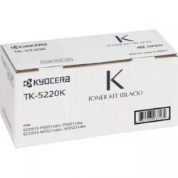 CARTUS TONER BLACK TK-5220K 1.2K ORIGINAL KYOCERA ECOSYS M5521CDN