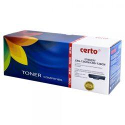CARTUS TONER COMPATIBIL CERTO NEW CE278A/CRG-726/CRG-728 2