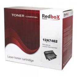 CARTUS TONER COMPATIBIL REDBOX 12A7462/12A7362RD 21K LEXMARK OPTRA T630