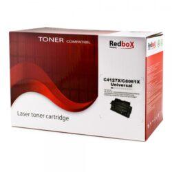 CARTUS TONER COMPATIBIL REDBOX C4127X//C8061X 10K HP LASERJET 4000