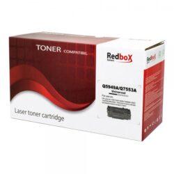 CARTUS TONER COMPATIBIL REDBOX Q5949A/Q7553A 3K HP LASERJET 1160