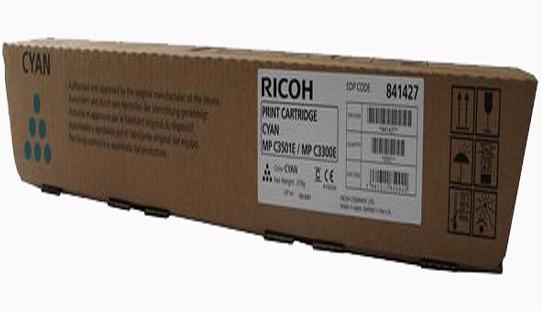 CARTUS TONER CYAN 841427/842046 15K ORIGINAL RICOH AFICIO MP C2800