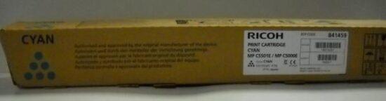 CARTUS TONER CYAN 841459/842051 18K ORIGINAL RICOH AFICIO MP C4000